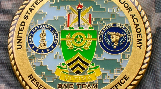 US Army Sergeants Major Academy – Joint National Guard & Army Reserve SGM Challenge Coin 2012-Present