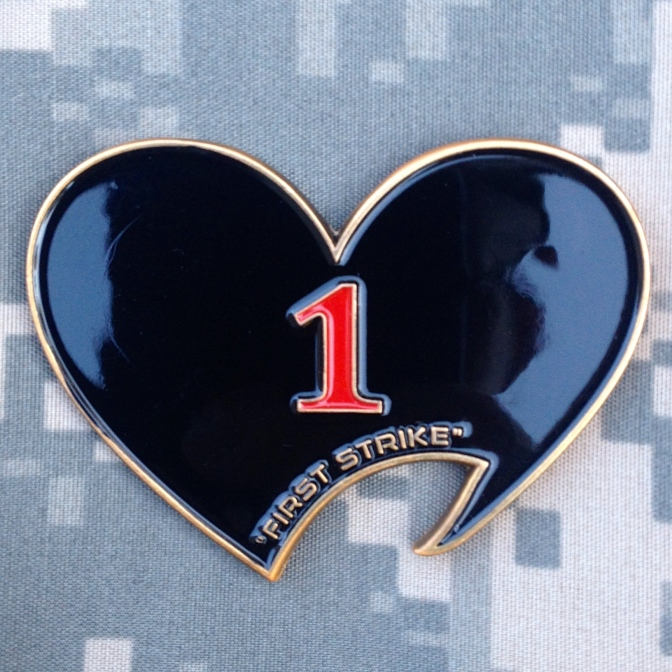 1st Battalion, 2/502nd Infantry Regiment: 2013 – 2014 OEF XV Commander's Deployment Challenge Coin